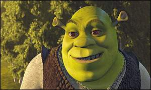 Shrek: One of nine films in the running for the Oscar