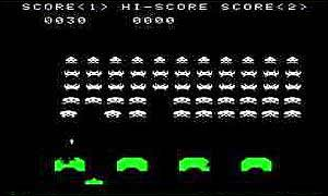 Space invaders, BBC