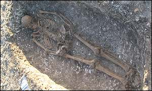 19 skeletons have been found, BBC