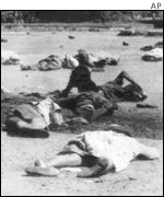 Victims of the Sharpeville massacre, South Africa 1960