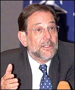 Javier Solana, EU foreign policy chief