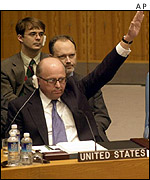 United States Ambassador to the UN John Negroponte