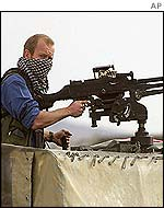 UK special forces soldier in Afghanistan