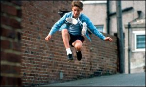 Scene from Billy Elliot movie