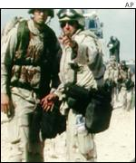 US marines in Somalia in the early 1990s
