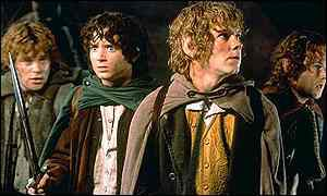 Hobbits from Lord Of The Rings