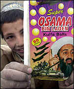 Osama Bin Laden chewing gum packet