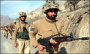 Pakistani troops