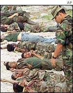 Dead FARC rebels
