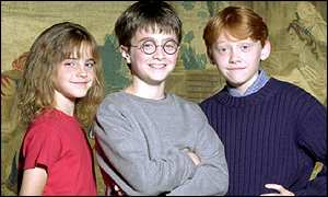 The child stars of the first Harry Potter film are unveiled