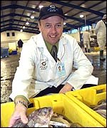 Martin Boyers, chief executive, Grimsby fish market