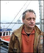 Bill Hardy, captain of fishing vessel Stormy C