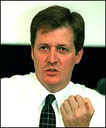 Government communications director Alastair Campbell