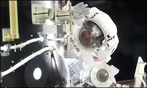 Astronaut on space walk, MIT