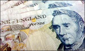 Current �5 note with George Stephenson