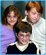The stars of the first Harry Potter film