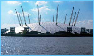 The Millennium Dome in Greenwich