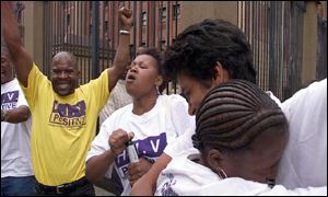 Aids activists in South Africa rejoice at court decision to make drugs available, AP