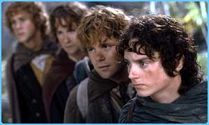 The hobbits are going up against Potter