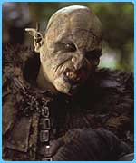 A Lord of the Rings orc