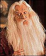 Richard Harris as Hogwarts headmaster Dumbledore