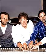 In 1995, the remaining Beatles recorded new songs