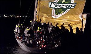 Ludde Ingvall is skipper of Nicorette