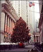 Christmas tree in NY