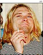 Love says Cobain was Nirvana's sole creative force
