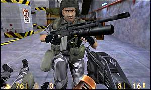 Enhanced graphics on PS2 version