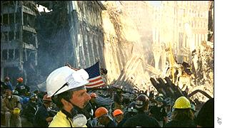 The clean-up operation at ground zero