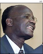 Information Minister Jonathan Moyo