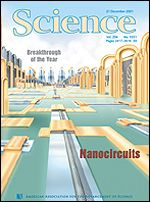 Science magazine cover, Science