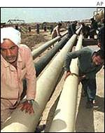 al-Basra oil field, Iraq
