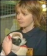 Sarah McKay of the National Canine Defence League