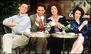 All four stars of Will and Grace have nominations