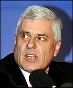 Leeds chairman Peter Ridsdale