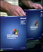 Windows XP Professional operating system, BBC