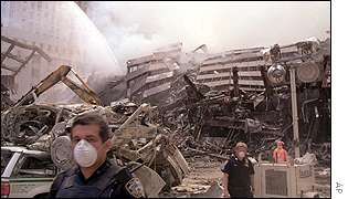 Debris of the WTC