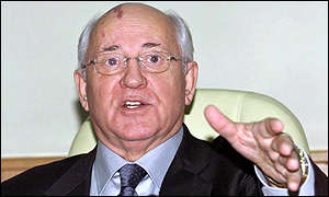 Mikhail Gorbachev on 21/12/01