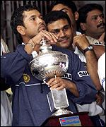 Sachin Tendulkar was man of the series