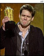Jim Carrey: Latest film only entered at number eight