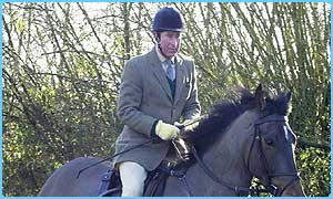 Prince Charles is a supporter of fox hunting