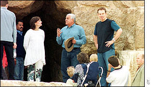 Tony and Cherie Blair in Egypt