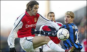 Arsenal's Robert Pires