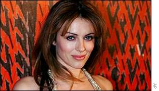 Liz Hurley announced her pregnancy in November