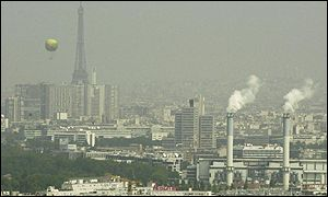 Paris, like many other cities around the world has been hit by air pollution