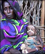 Southern Somali mother and child