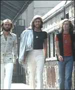 The Bee Gees sing Stayin' Alive