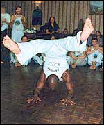 Capoeira - a dance-like fighting technique